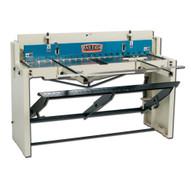 Baileigh Industrial Sf-5216e Foot (stomp) Shear 52 Length 16 Gauge Mild Steel Capacity-1
