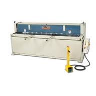 Baileigh Industrial Sh-10010 220 Volt Three Phase Hydraulic Powered Shear. 100 Length 10 Gauge Mild Steel Capacity-1