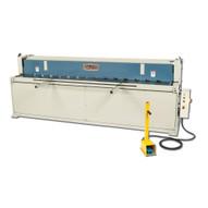 Baileigh Industrial Sh-12010 220 Volt Three Phase Hydraulic Powered Shear. 120 Length 10 Gauge Mild Steel Capacity.-1
