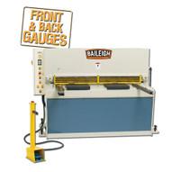 Baileigh Industrial Sh-5210-hd 220 Volt Three Phase Heavy Duty Hydraulic Shear. 52 Length 10 Gauge Mild Steel Capacity.-1