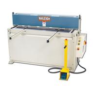 Baileigh Industrial Sh-5210 220 Volt Single Phase Hydraulic Powered Shear. 52 Length 10 Gauge Mild Steel Capacity.-1