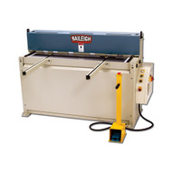 Baileigh Industrial Sh-5214 220 Volt Single Phase Hydraulic Powered Shear. 52 Length 14 Gauge Mild Steel Capacity-1