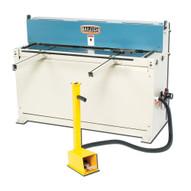 Baileigh Industrial Sh-5216a Air Powered Shear 52' Length 16 Gauge Mild Steel Capacity 20 Strokes Per Minute-1