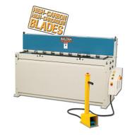 Baileigh Industrial Sh-6010 220 Volt Three Phase Hydraulic Powered Shear. 60 Length 10 Gauge Mild Steel Capacity-1