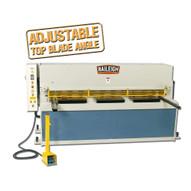 Baileigh Industrial Sh-8008-hd 220 Volt Three Phase Heavy Duty Hydraulic Shear. 80 Length 8 Gauge Mild Steel Capacity-1
