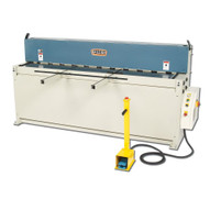 Baileigh Industrial Sh-8010 220 Volt Three Phase Hydraulic Powered Shear. 80 Length 10 Gauge Mild Steel Capacity.-1