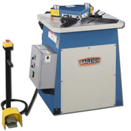 Baileigh Industrial Sn-f09-ms 220 440v 60 Hz 3phase 9 Gauge Hydraulic Fixed Angle Sheet Metal Notcher-1