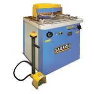 Baileigh Industrial Sn-v04-ms 220 440v 60 Hz 3phase 4 Gauge (6mm) Hydraulic Variable Angle Sheet Metal Notcher-2