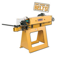Baileigh Industrial Tn-400 220 Volt Single Phase 3hp Abrasive Belt Notcher 4 Belt Width Will Notch 3 4 To 2 Od-1