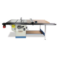 Baileigh Industrial Ts-1248p-52 5 Hp 220v Single Phase 12 Professional Cabinet Style Table Saw 48 X 30 Table 52 Max Rip Cut-5