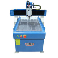 Baileigh Industrial WR-32 220V Single Phase 2' x 3' CNC Advertising Router Table 4.2hp Spindle and Software Package-1