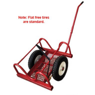 B & B Pipe Tools 2013 Pipe BuggyDolly 12 Pipe Cap FLAT FREE TIRES-1