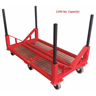 B & B Pipe Tools 2015 2000 Lb Pipe Cart With V-attachment (stackable)-2