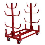 B & B Pipe Tools 2033-4E Conduit Stacker Cart. 4 wheels, no floor