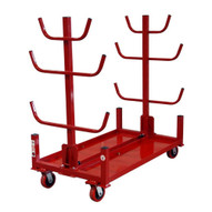 B & B Pipe Tools 2033-4E Conduit Stacker Cart. 4 wheels, with floor