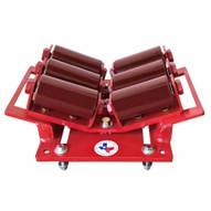 B & B Pipe Tools 2110HD (6 Roller) Beam Pipe Clamp Roller 2-24 In. Heavy Duty 7500 LB Cap-1
