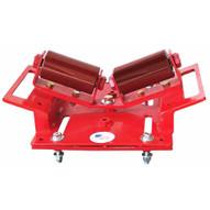 B & B Pipe Tools 2110 (2 Roller) Beam Pipe Clamp Roller 2-24 In. 2500 LB Cap-1