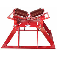 B & B Pipe Tools 2115 Pipe Launcher Beam Roller Stand 4-20 Pipe 2500 Lb Cap-1