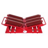 B & B Pipe Tools 2125HD (6 Roller) Beam Pipe Clamp Roller 4-48 In. 20000 LB Cap-1