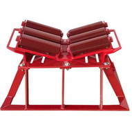 B & B Pipe Tools 2126HD Pipe Launcher Beam Roller Stand 4-48 Pipe Heavy Duty 20000 Lb Cap-1