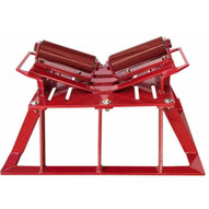 B & B Pipe Tools 2126 Pipe Launcher Beam Roller Stand 4-48 Pipe 10000 Lb Cap-1