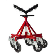B & B Pipe Tools 3511 Five Leg Giant Jack W Rubber Wheels And Casters 2500 Lb Capacity-1