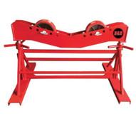 B & B Pipe Tools 3802 Mega Pipe Roller Jack Stand 10000 LB Cap-1