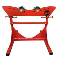 B & B Pipe Tools 3806 Mega Short Pipe Roller Jack Stand 6000 LB Cap-1