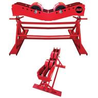 B & B Pipe Tools 3808 Mega Tall Pipe Jack Roller Stand 15000 LB Cap-1