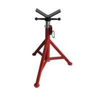 B & B Pipe Tools 4100 Fixed Leg V-head Pipe Jack 2500 Lb Capacity-1