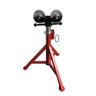 B & B Pipe Tools 4105 Fixed Leg Roller Head Wsteel Wheels Pipe Jack 2000 Lb Capacity-1