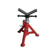 B & B Pipe Tools 4240 Super Short Fixed Leg V-head Pipe Jack 2500 Lb Capacity-1