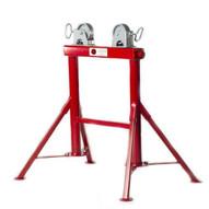 B & B Pipe Tools 4300 Adjustable Four Leg Pipe Roller W Steel Wheels 2500 Lb Capacity-1