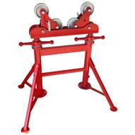 B & B Pipe Tools 4375 Height Adjustable Multi Roller W Steel Wheels 3000 Lb Capacity-1
