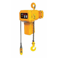 Bison Lifting HHBD01SK-01 1 Ton 3 Phase 20' Single Speed Electric Chain Hoist-1