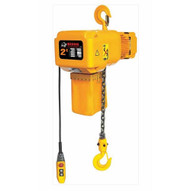 Bison Lifting HHBD02SK-01 2 Ton 3 Phase 20' Single Speed Electric Chain Hoist-1