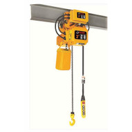 Bison Lifting HHBDSK03-01D+WPC03D 3 Ton 3 Phase Dual Speed 20' Electric Chain Hoist With Trolley-1