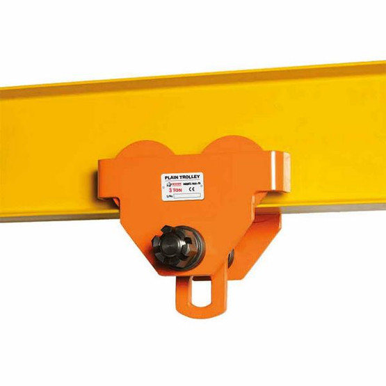 Bison Lifting PT030 3 Ton Plain Trolley-1