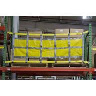 Bednet BN-RSN-98.5 Rack Safety Net - Sliding (8 Ft. Bay)-2