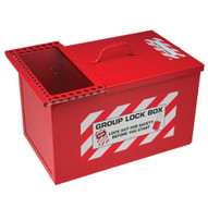 Brady 105717 Combined Lock Storage And Group Lock Box - Red-1