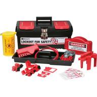 Brady 105956 Personal Valve And Electrical Kit W 3 Keyed-alike Steel Padlocks-1