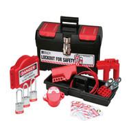 Brady 105959 Personal Valve Lockout Kit W 3 Keyed-alike Steel Padlocks-1