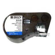 Brady M-51-427 1.000 W x 2.500 H BMP51 BMP53 BMP41 Label Maker Cartridge Black on White Clear-1