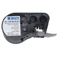 Brady MC1-1000-595-BK-WT 1.000 W x 25' H (25.400 mm W x 7.62 m H)-1