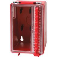 Brady 50938 Mini Wall Lock Box - Red-1
