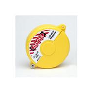 Brady 65590 Mini Gate Valve Lockout - Yellow-1