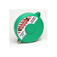 Brady 65595 Mini Gate Valve Lockout - Green-1