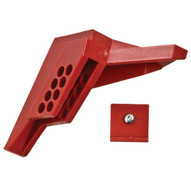 Brady 65666 Small Ball Valve Lockout - Red-1