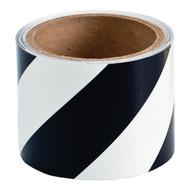 Brady 76431 Glow-in-the-dark Stripes & Solid Tape - 3 W X 5 Yds. - Black And Phosphorescent-1