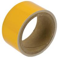 Brady 78986 Reflective Stripes Checks & Color Tape - 2 W X 5 Yds. - Yellow-1